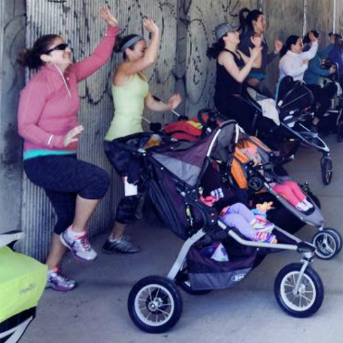 Adrenaline Stroller Fit Class with Kids