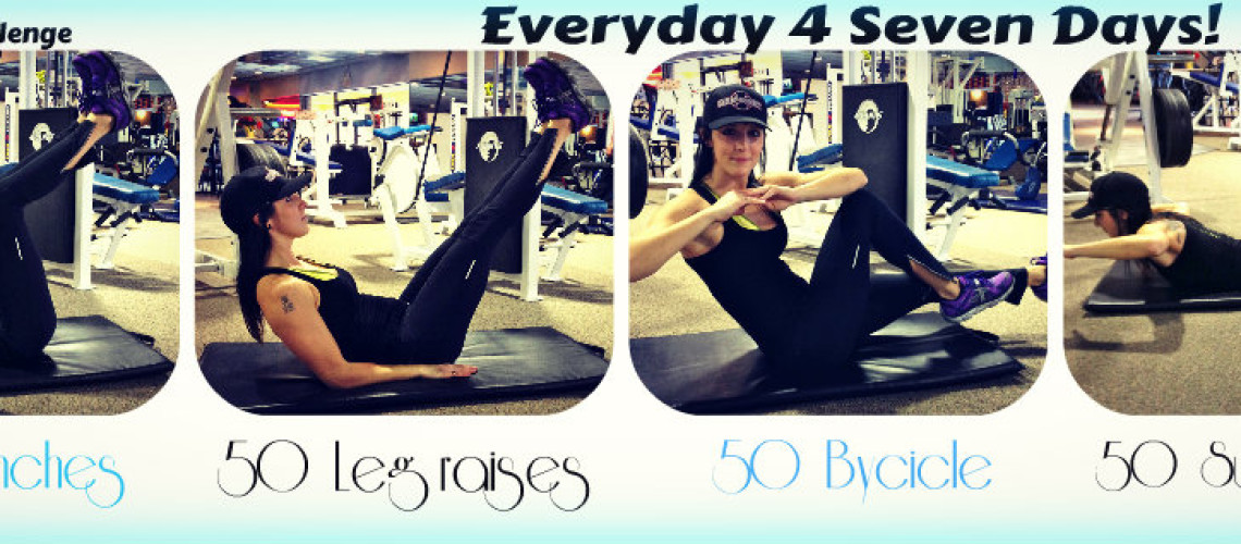 Core Challenge | Everyday for 7 days | #FITWEEK
