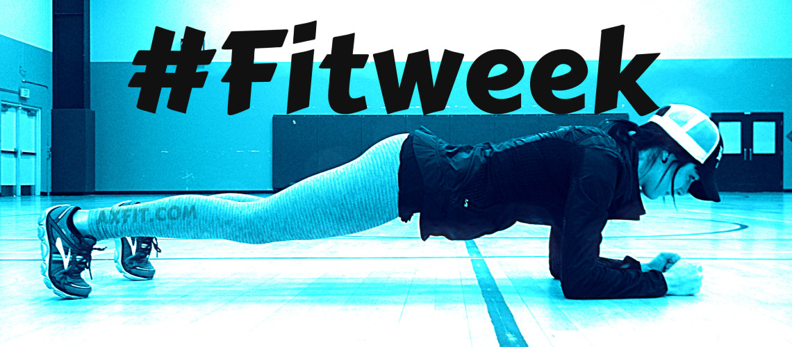 #Fitweek Challenge – Plank drills