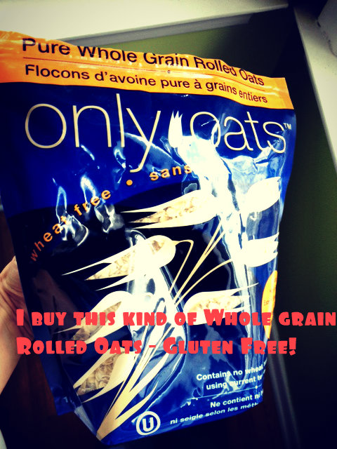 whole grain rolled oats