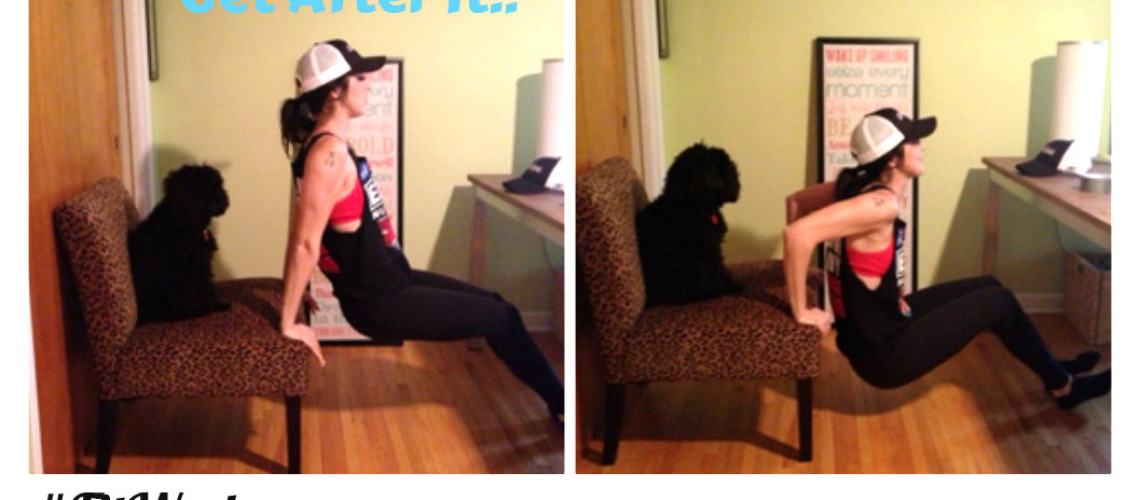 100 Dips a day – #FitWeek Challenge