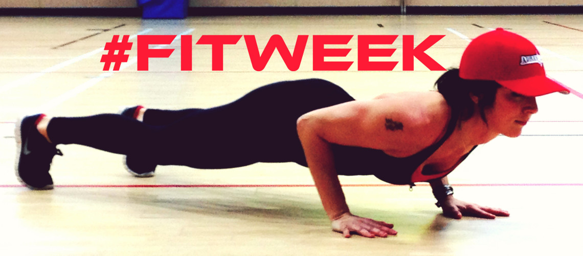 #FitWeek Challenge – Pushup Hold