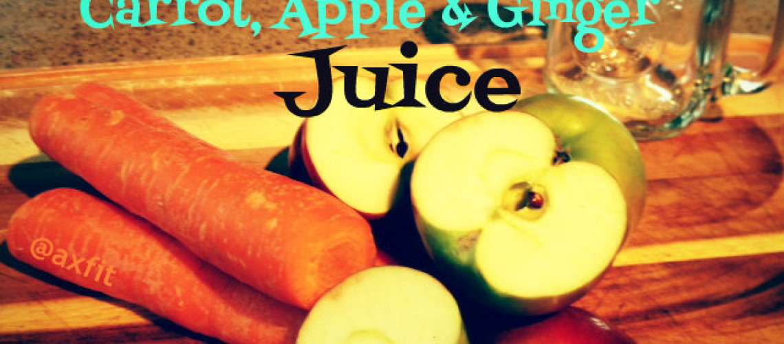 how to make apple carrot juice