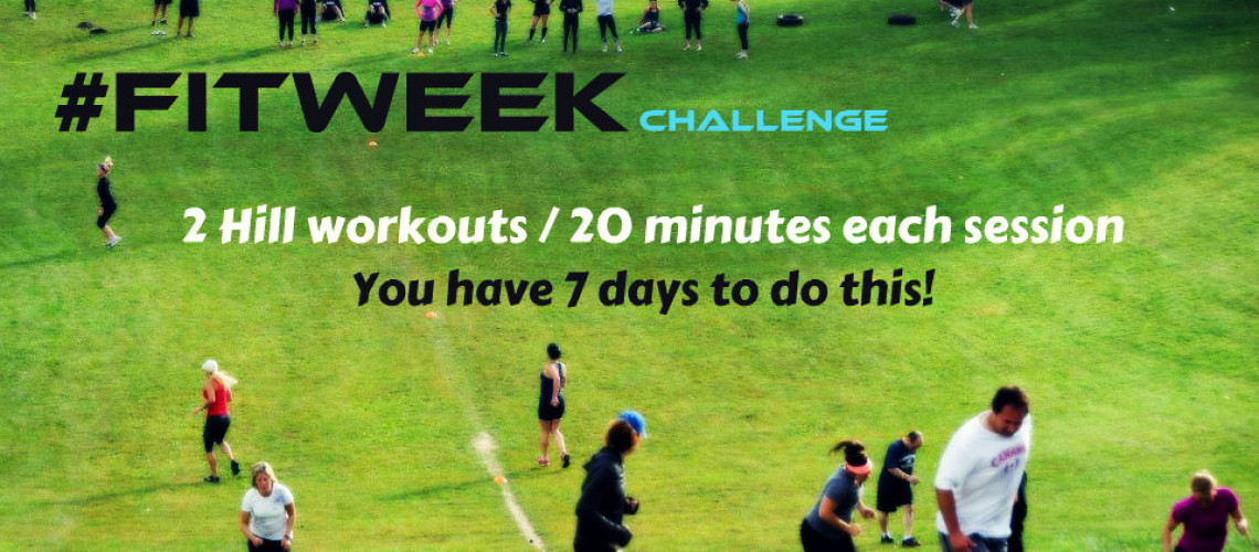 #FitWeek Challenge – Hill Workout