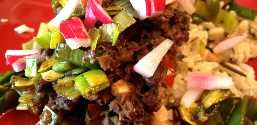 """Black Beans & Rice – A High Protein """"Go To"""" meal"""