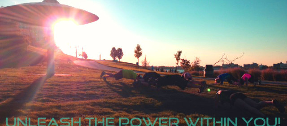 Outdoor Urban Training – UnLeash the Power within YOU