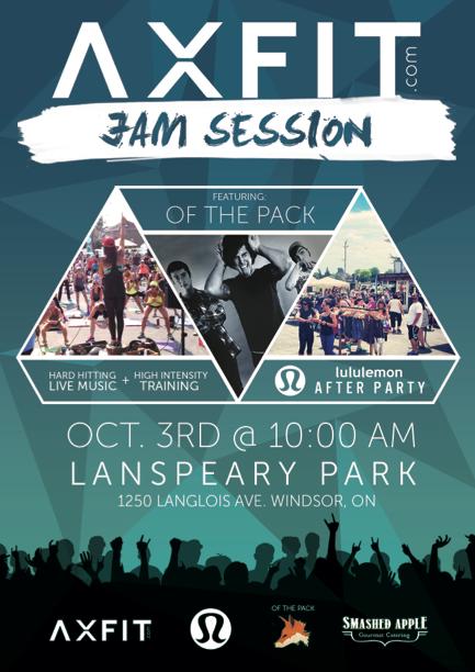 AXFIT Jam Session Windsor October 3