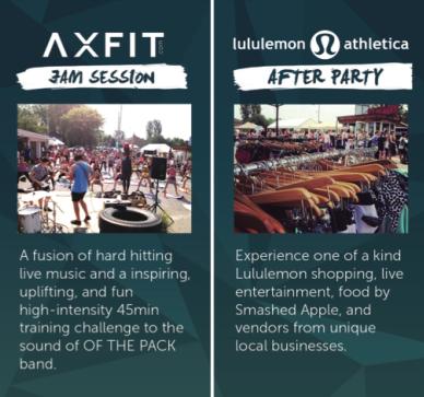 AXFIT Jam Session Description