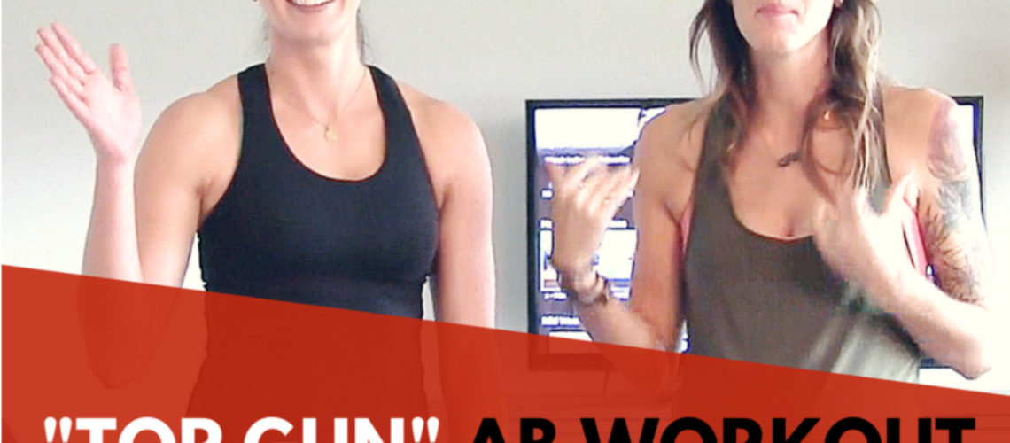 """""""Top Gun"""" 8 Minute Ab Workout – Home Boot Camp Series"""