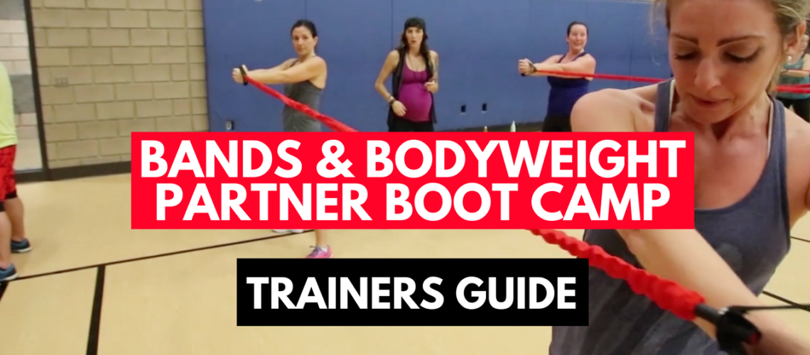 Advanced Resistance Bands & Bodyweight Partner Boot Camp Routine