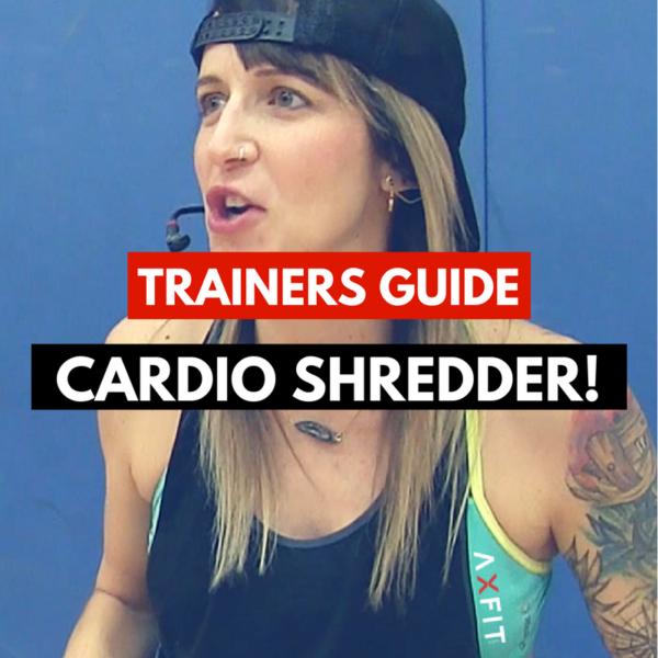 Cardio Shredder Boot Camp Idea