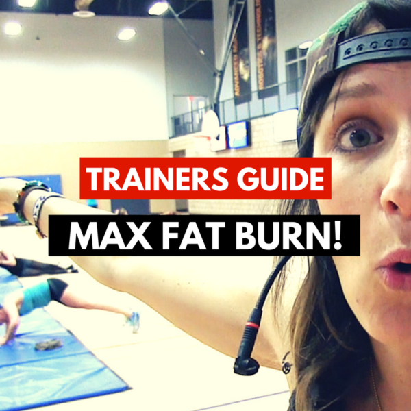 Max Fat Burn Boot Camp Instructor Training Guide