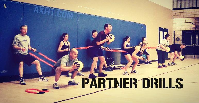 Partner Workouts | Circuit Training | AXFIT