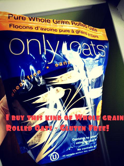 whole grain rolled oats