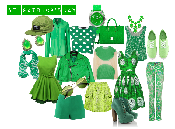d7e22ac56f1769 St. Patrick's Day Fashion: Wear Green the RIGHT Way! - AXFIT.COM