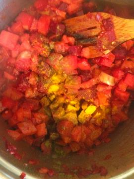 healthy beet soup