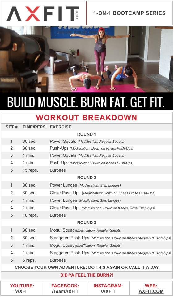 15 Minute Muscle Building, Fat Burning, HIIT Home Workout Routine