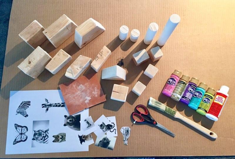 DIY Block Kids Set
