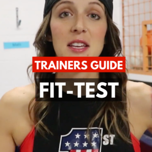 AXFIT Full Fit-Test Step-By-Step Exercise Template