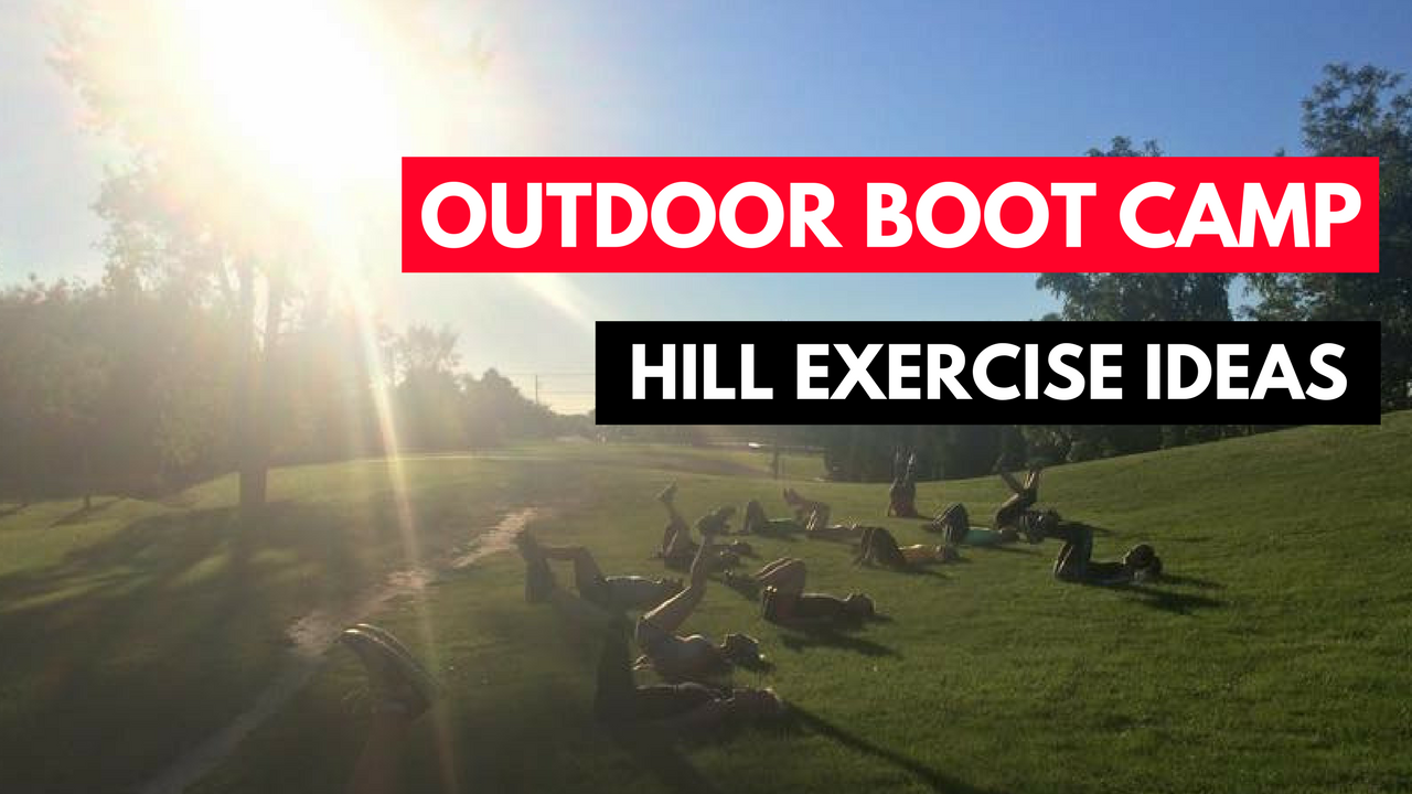 hill training exercise ideas : advanced cardio and legs outdoor boot