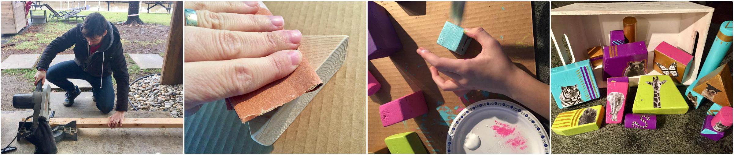 DIY Baby Block set