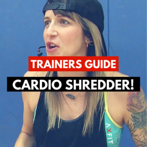 Cardio Shredder Boot Camp Idea